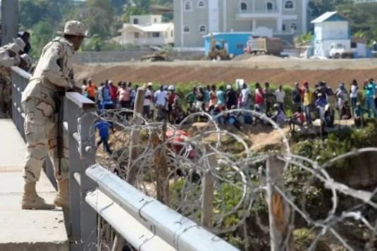 frontera rd haiti