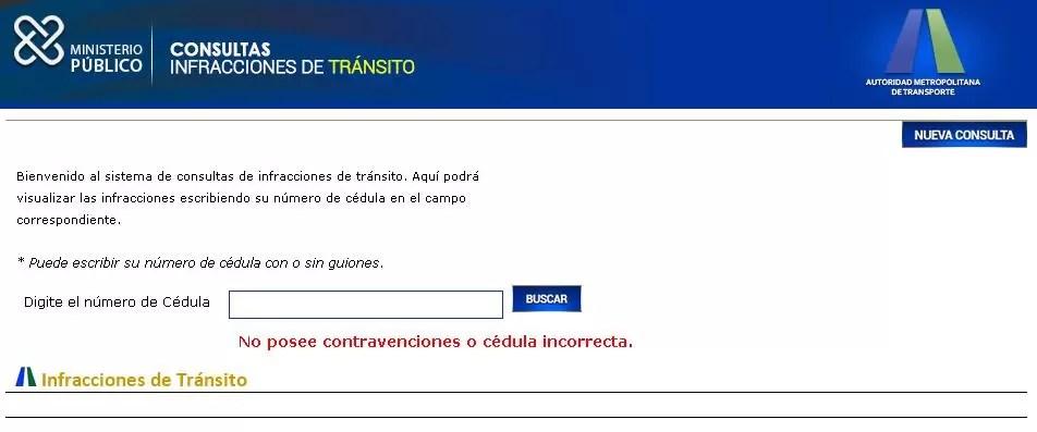 MP y AMET habilitan buscador para consultar contravenciones de tránsito