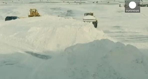 Un frente polar deja a 140 millones de estadounidense bajo cero