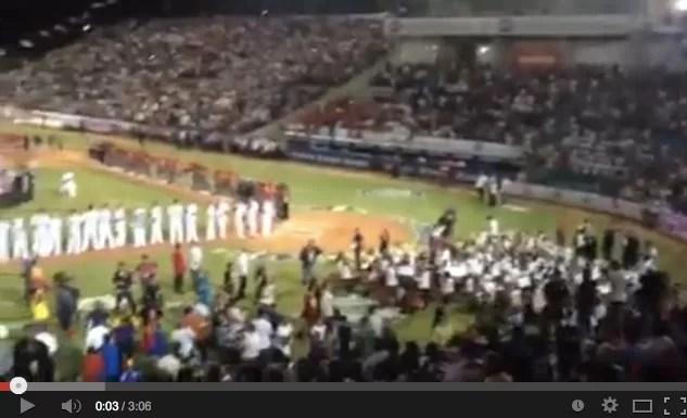 Presidente Nicolás Maduro abucheado en la Serie del Caribe (VÍDEO)