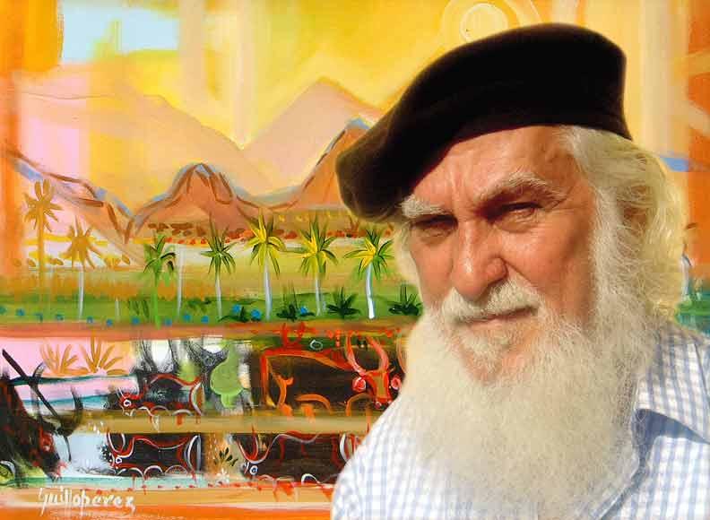 Muere Guillo Pérez, maestro de la pintura dominicana