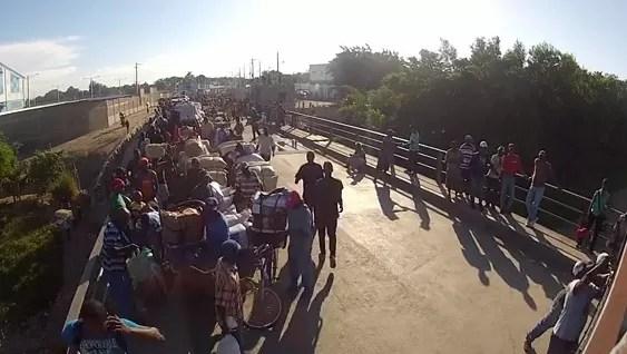 Matan a dos por llevar productos de República Dominicana a Haití