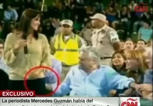 Periodista boliviana manoseada por un alcalde habla tras el incidente (video)