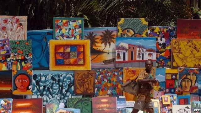 haitiano malecon cuadros pintura