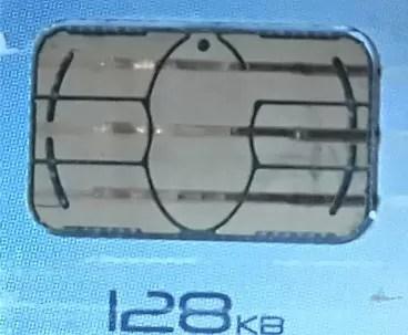 Chip sim card