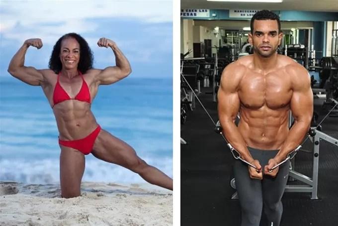 Atletas dominicanos en 'Fitness Universe'