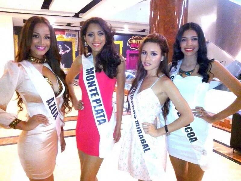 Candidatas del Miss República Dominicana Universo son llevadas a la universidad a prepararse