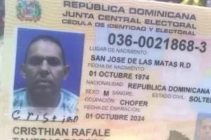 Cristhian Rafale Taveras Torres