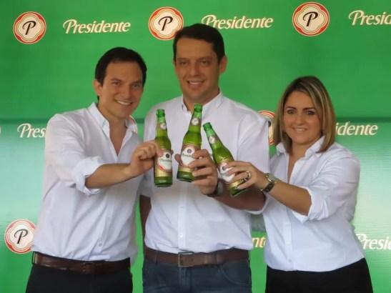 Mikele Marsicovetere, Sandro Assis y Maria Jose Villanueva