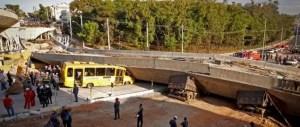 colapso carretera