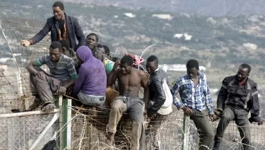 inmigracion africanos negros haitianos