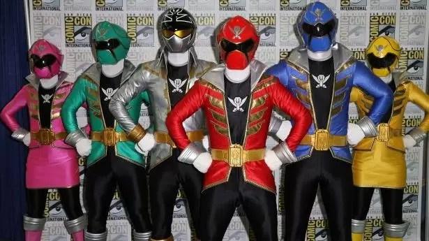 Los Power Rangers volverán al cine en julio de 2016