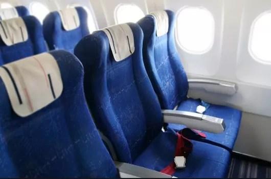Los sitios más sucios que encontrarás en el avión