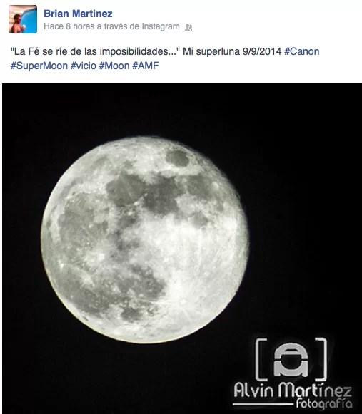 La imponente superluna que cubrió la noche en todos los rincones de RD y el mundo