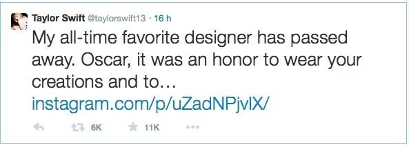 My all-time favorite designer has passed away