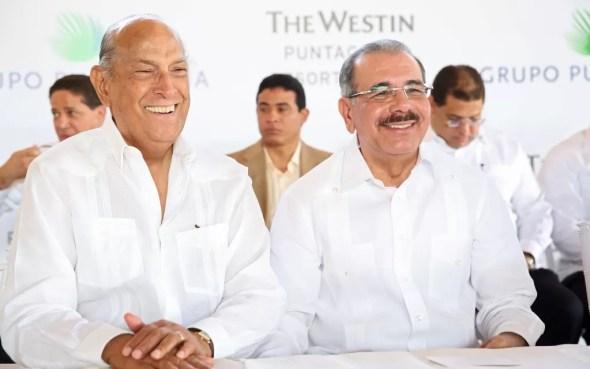 Oscar y Danilo Medina