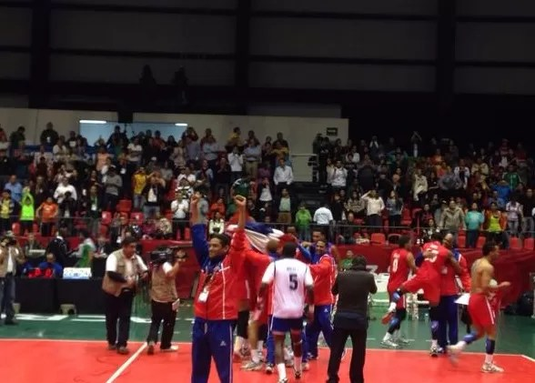 Dominicanos celebran el triunfo