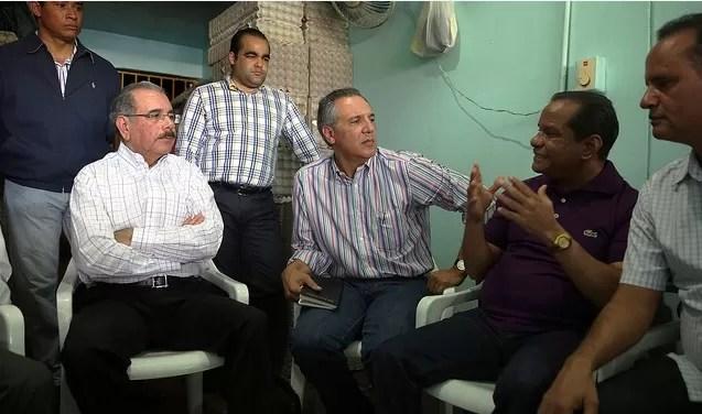 Danilo Medina en el mercado nuevo