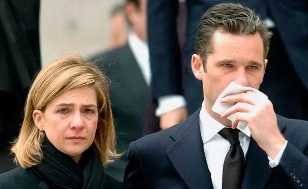 Infanta Cristina y su esposo