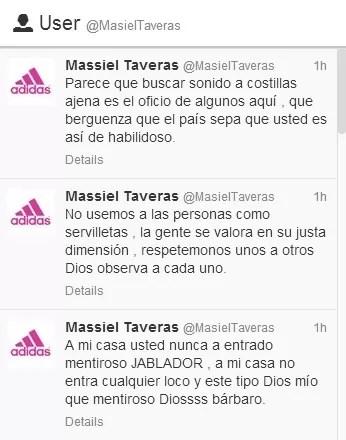 Massiel Taveras Twitter