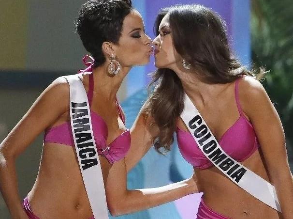 Jamaica y Colombia
