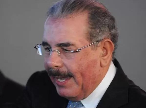 Danilo Medina con alergia