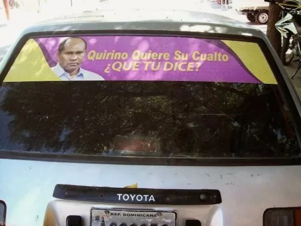 """""""Quirino quiere su cualto ¿QUE TU DICE?""""."""