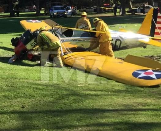 Avioneta de Harrison Ford