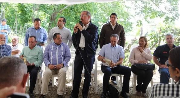 Danilo Medina en Puerto Plata