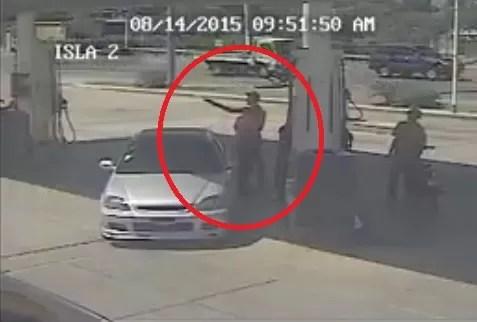 Atracadores en motor
