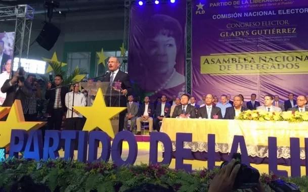 Danilo Medina jura que no volverá a buscar la Presidencia