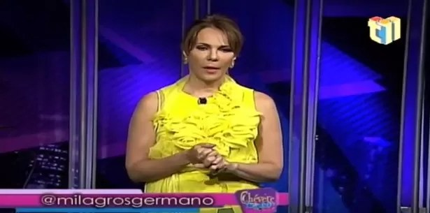 Video: Milagros Germán ironiza sobre su soltería (No liga)