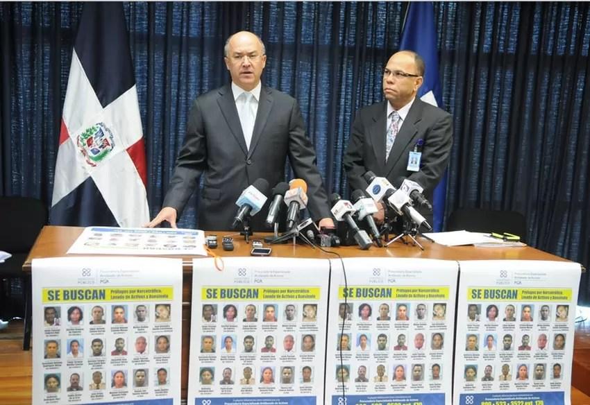 Autoridades del Ministerio Público persiguen 19 prófugos