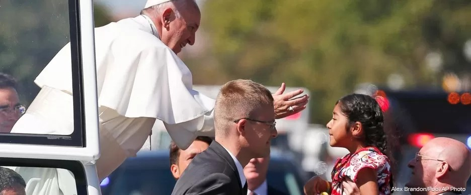 Sophia, la niña mexicana que pidió al papa una reforma migratoria