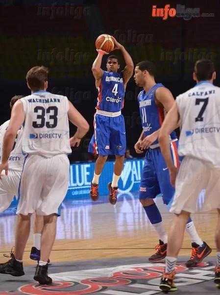 República Dominicana le gana 90-70 a Uruguay  en preolímpico de básquet