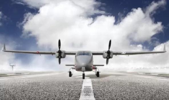 Un nuevo avión para misiones especiales en República Dominicana