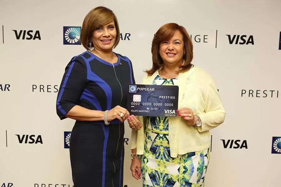 El  Banco Popular amplía su portafolio de tarjetas Premium con Visa Prestige