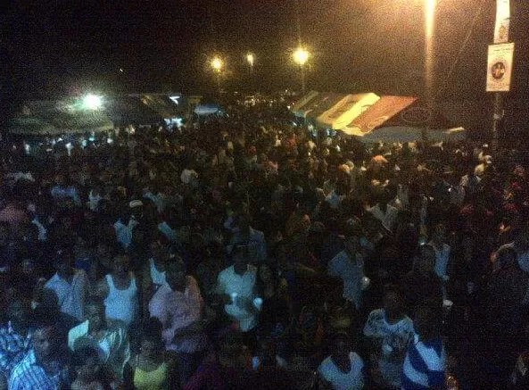 Omega hace desplante a más de 3mil personas en las fiestas patronales de Bánica
