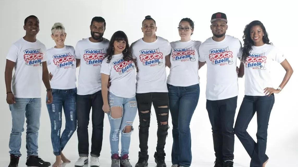 8 figuras se unen para motivar a votar…