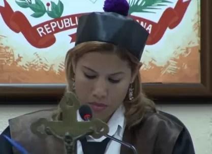 """Awilda Reyes Beltré:"""" Mariano Germán actuó como fiscal, juez y parte"""""""
