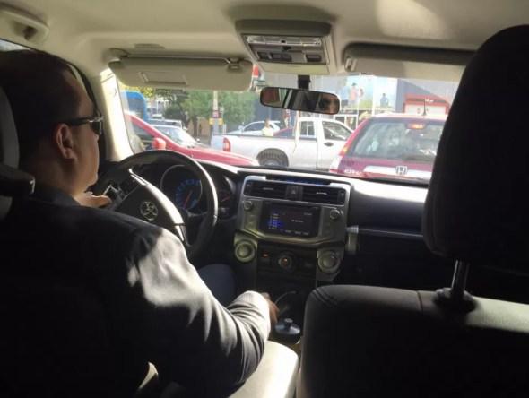 Chofer Uber