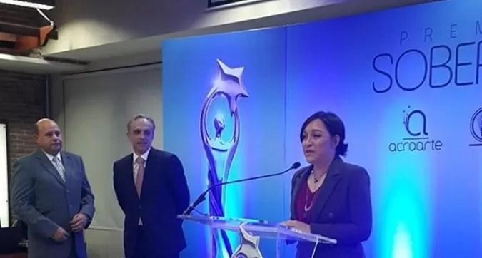 Edilenia Tactuck  fue elegida para producir Premios Soberano 2016