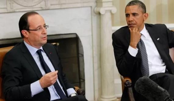 Hollande y Obama se reúnen para endurecer la lucha contra el EI