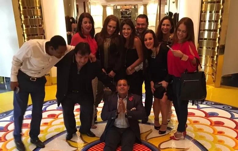 Sammy Sosa prefirió la tranquilidad y la familia para celebrar  en Dubái