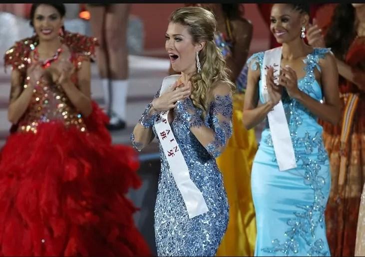 Modelo española de 23 años coronada Miss Mundo en China