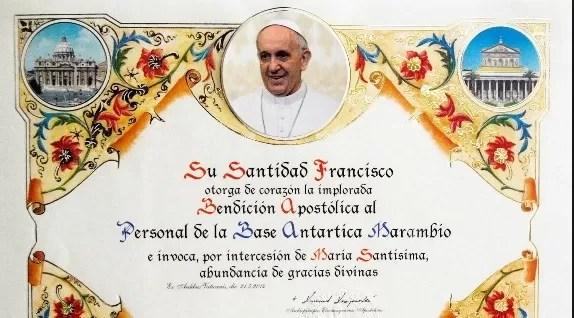 La policía italiana se incauta de 3.500 bendiciones papales falsas