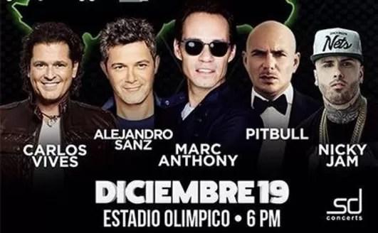 Se pospone el concierto Santo Domingo en vivo, Saymon Díaz está enfermo