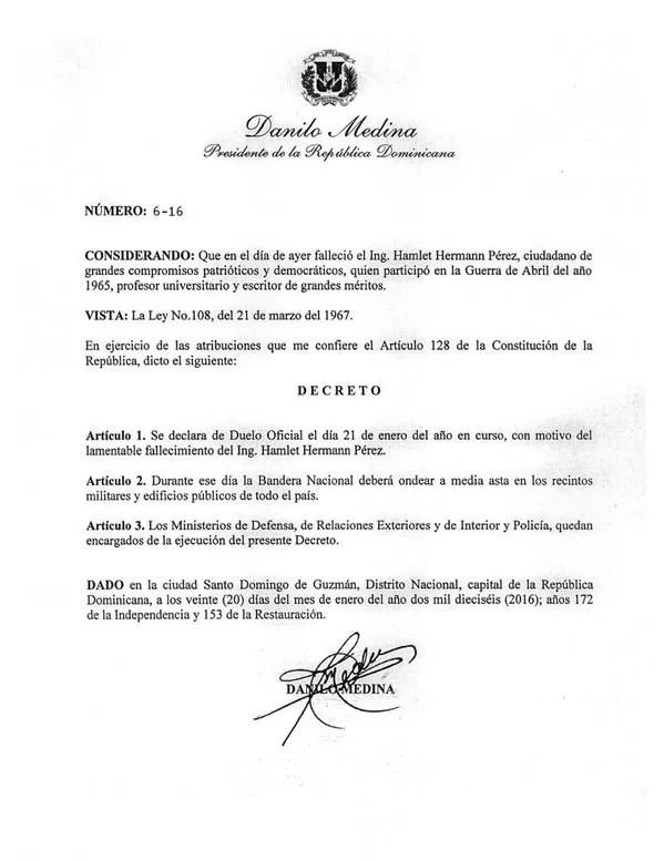Decreto Danilo