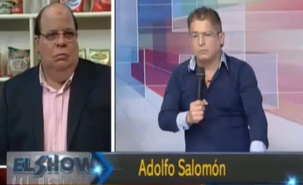 Adolfo Salomón dice que quería tumbarle los dientes a Abigaíl Soto