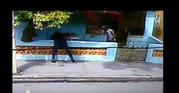 Video: Atracan general en su casa y miren cómo terminó todo